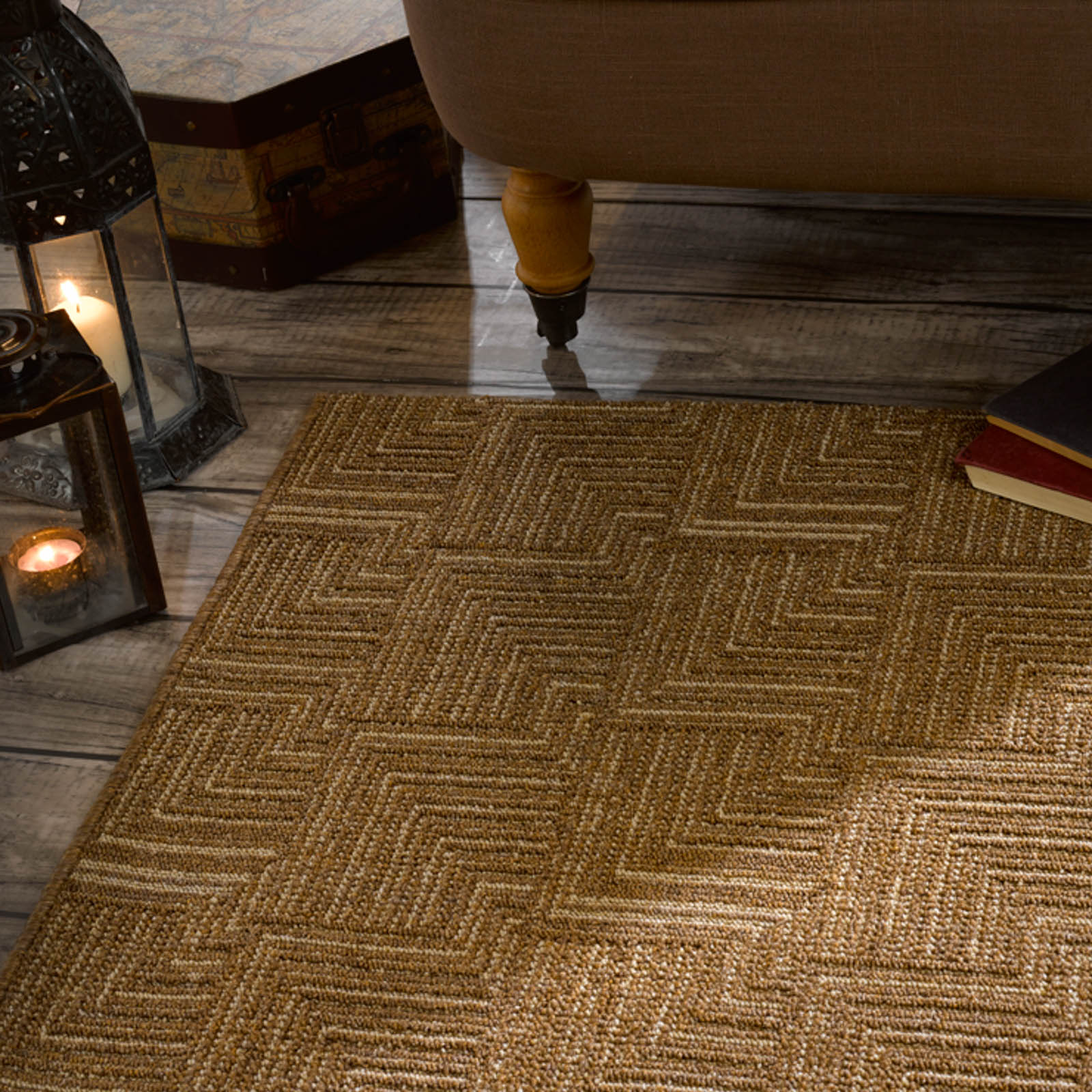 Skyline Pinnacle Rugs in Brown
