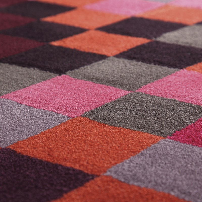 Esprit Pixel Rugs 2834 01 Red Buy Online From The Rug