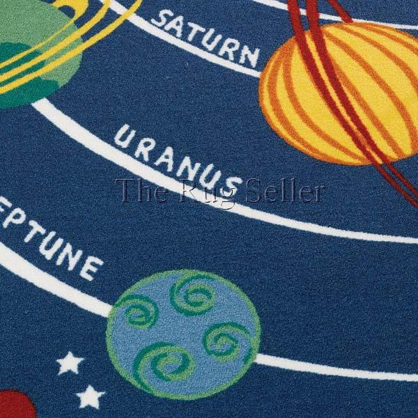 Washable Play Rugs: Matrix Planets Washable Play Rug