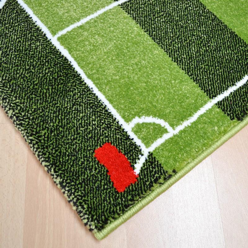 Play Rug Boys Football Pitch Childrens Rug Green: Play Football Pitch Rugs In Green Buy Online From The Rug