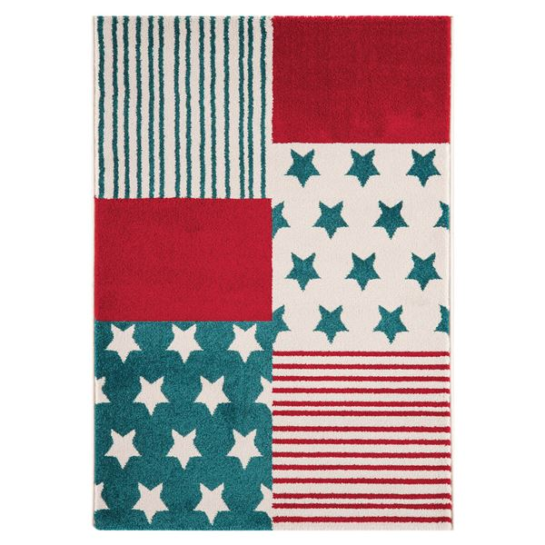 Stars Stripes - Red Blue