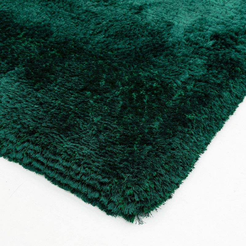 Plush Shaggy Rugs In Emerald Buy Online From The Rug Seller Uk