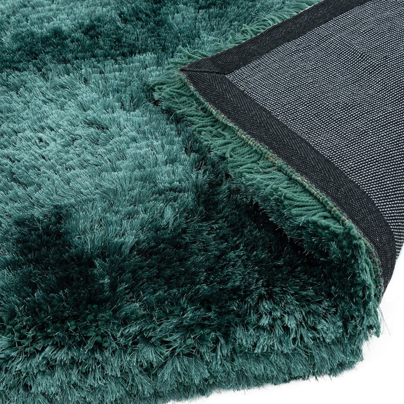 Plush Shaggy Rugs In Petrol Buy Online From The Rug Seller Uk