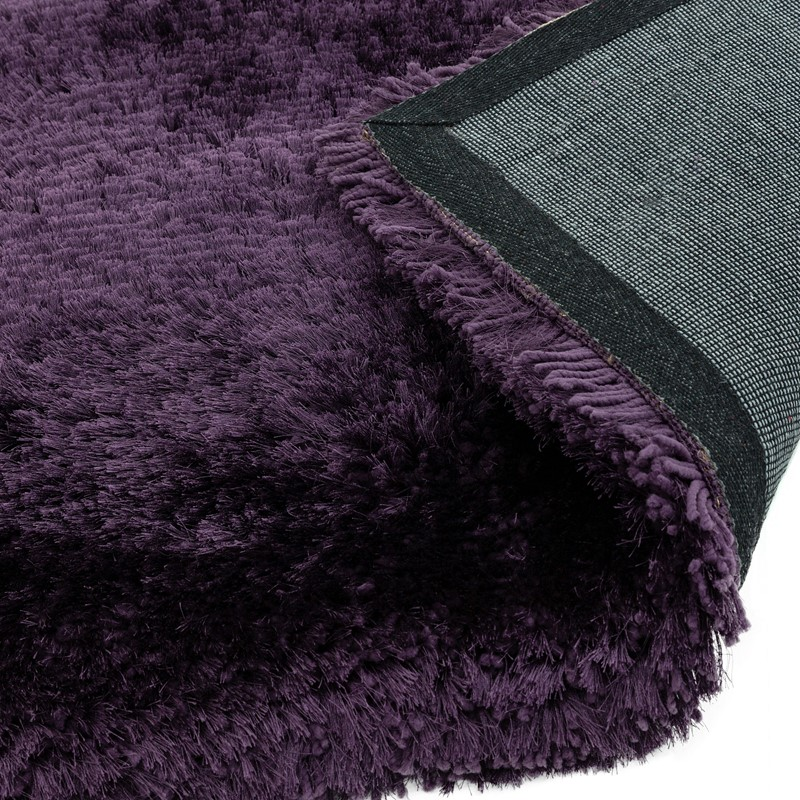 Plush Shaggy Rugs In Purple Buy Online From The Rug Seller Uk