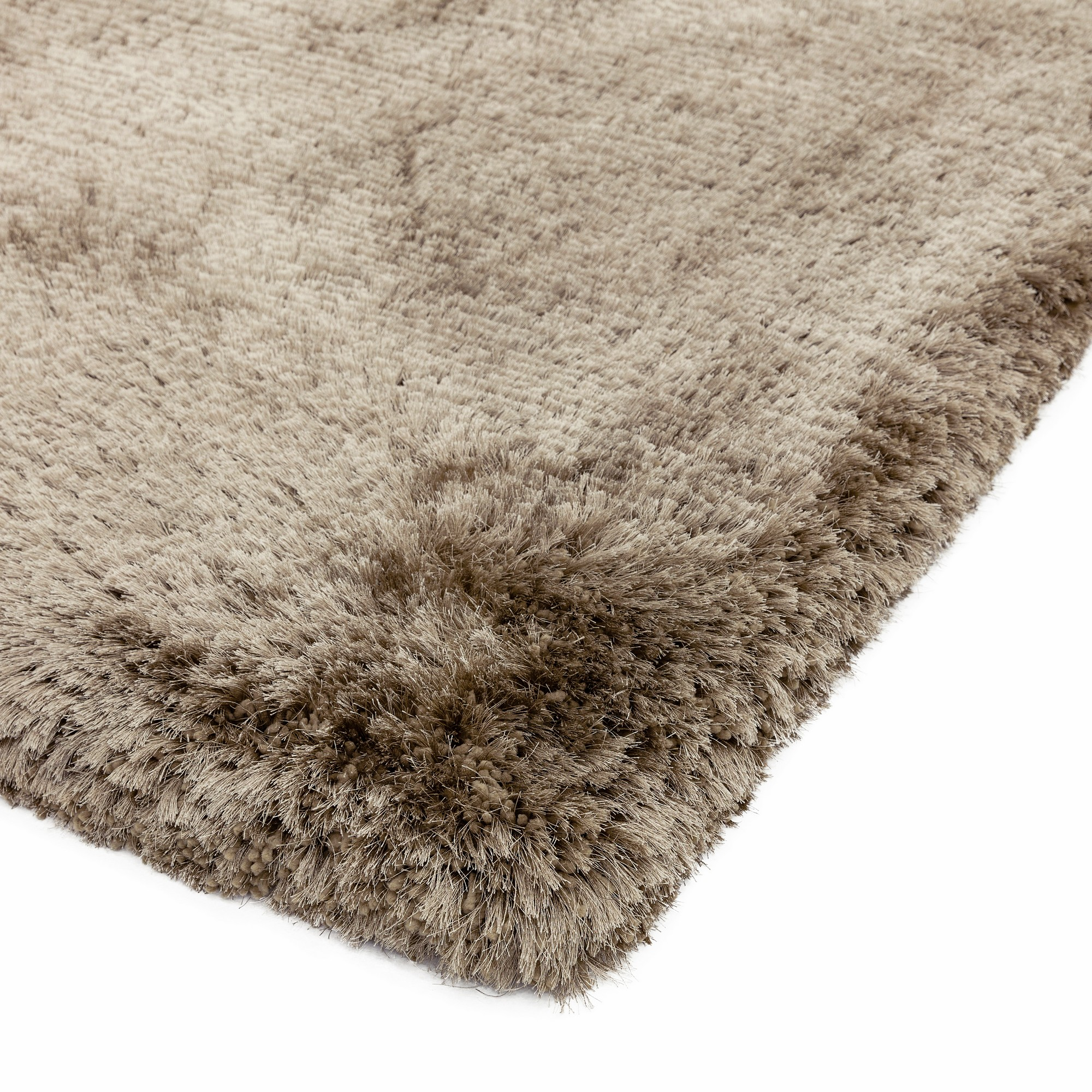 Plush Shaggy Rugs In Taupe. Click To View Other Images: