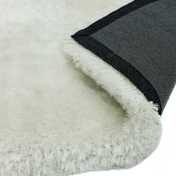 Plush Shaggy Rugs In White