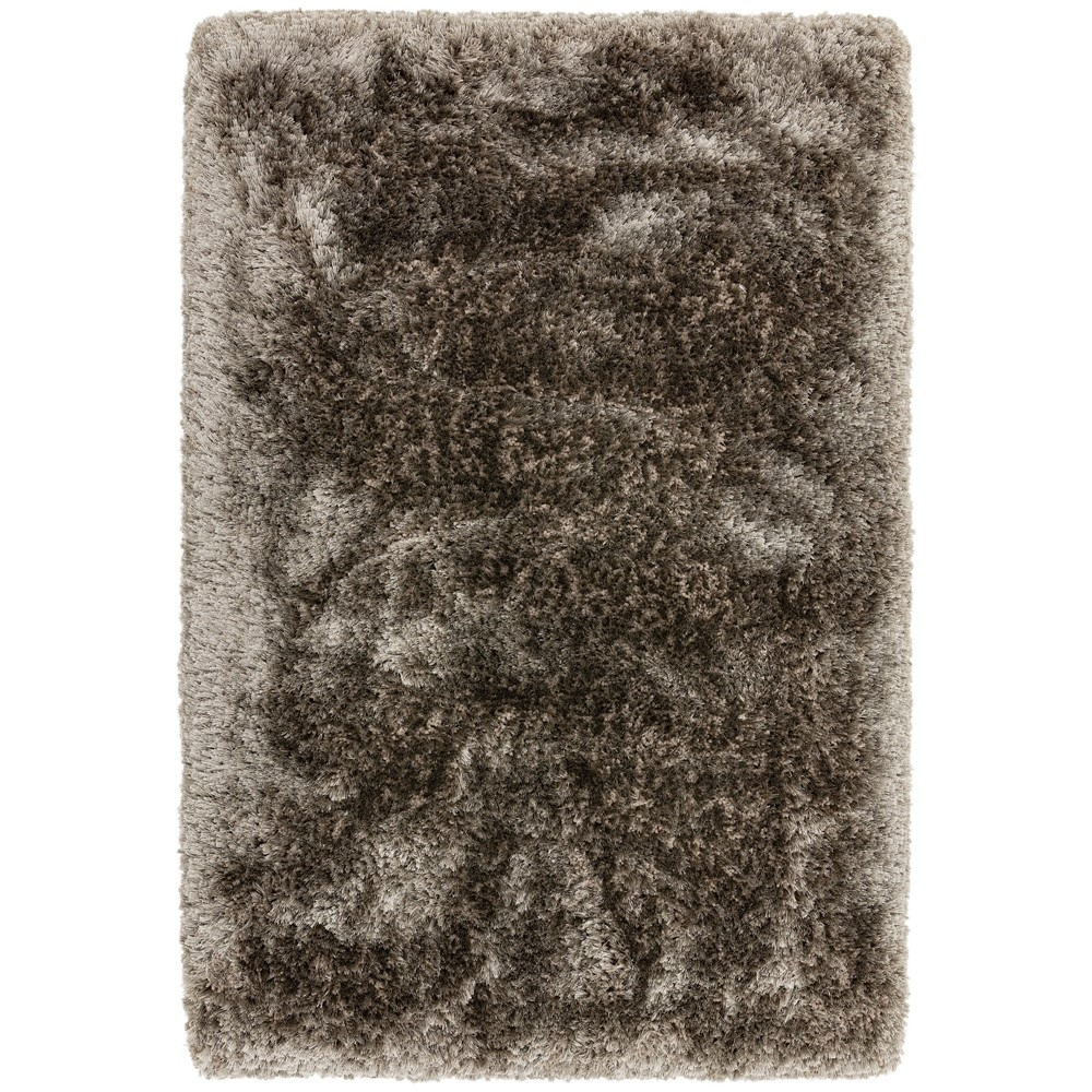 Plush Shaggy Rugs In Zinc Buy Online From The Rug Seller Uk