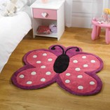 Polka Butterfly - Pink