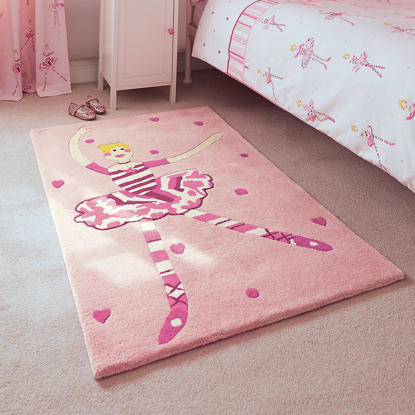 Polly Pirouette Rugs 42502 by Harlequin Kids