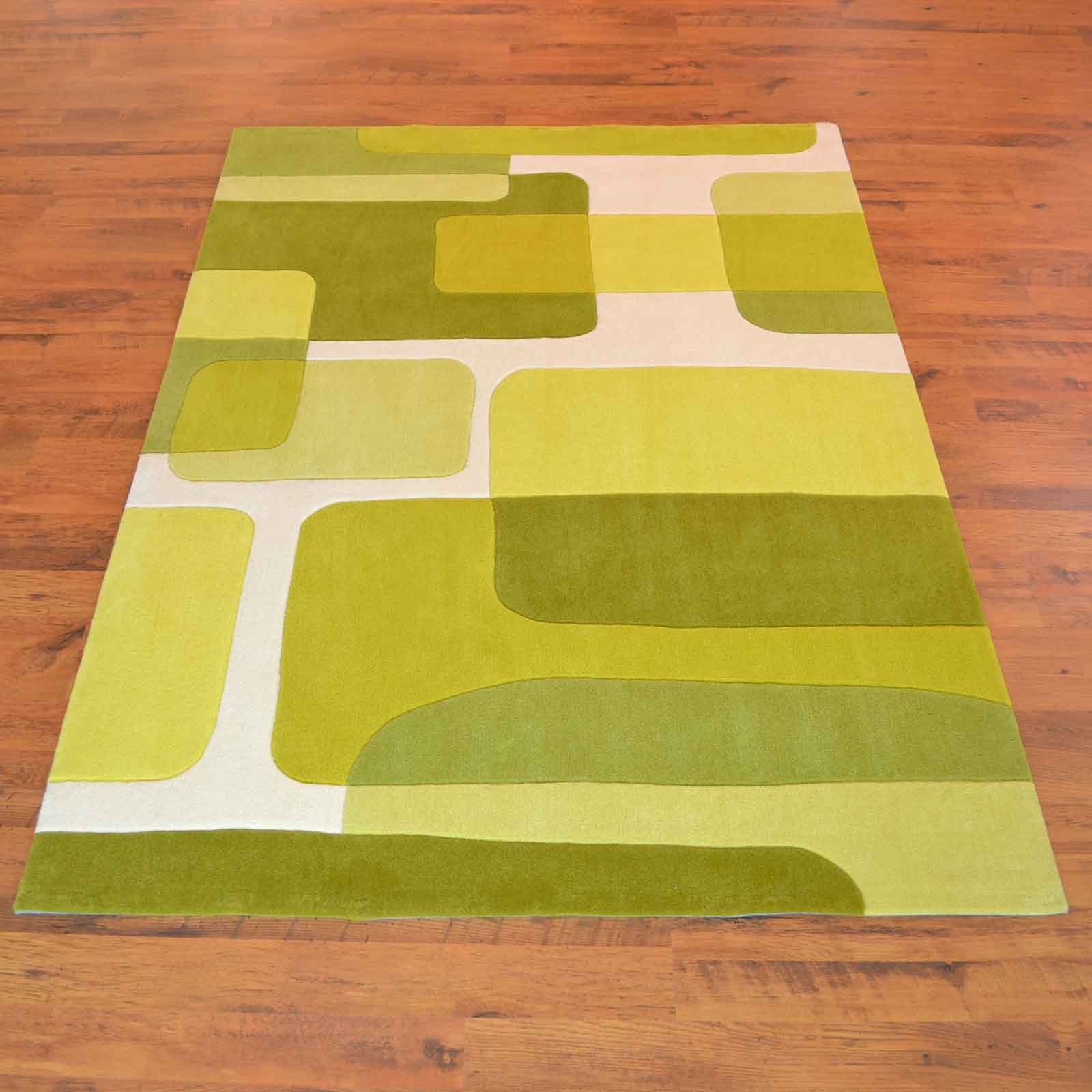 Pop Art Rugs 135 63 in Green