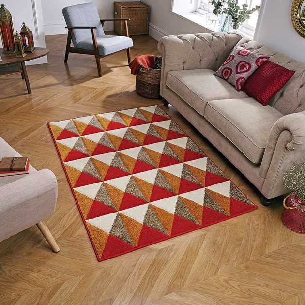 Portland Rugs 6994R in Red