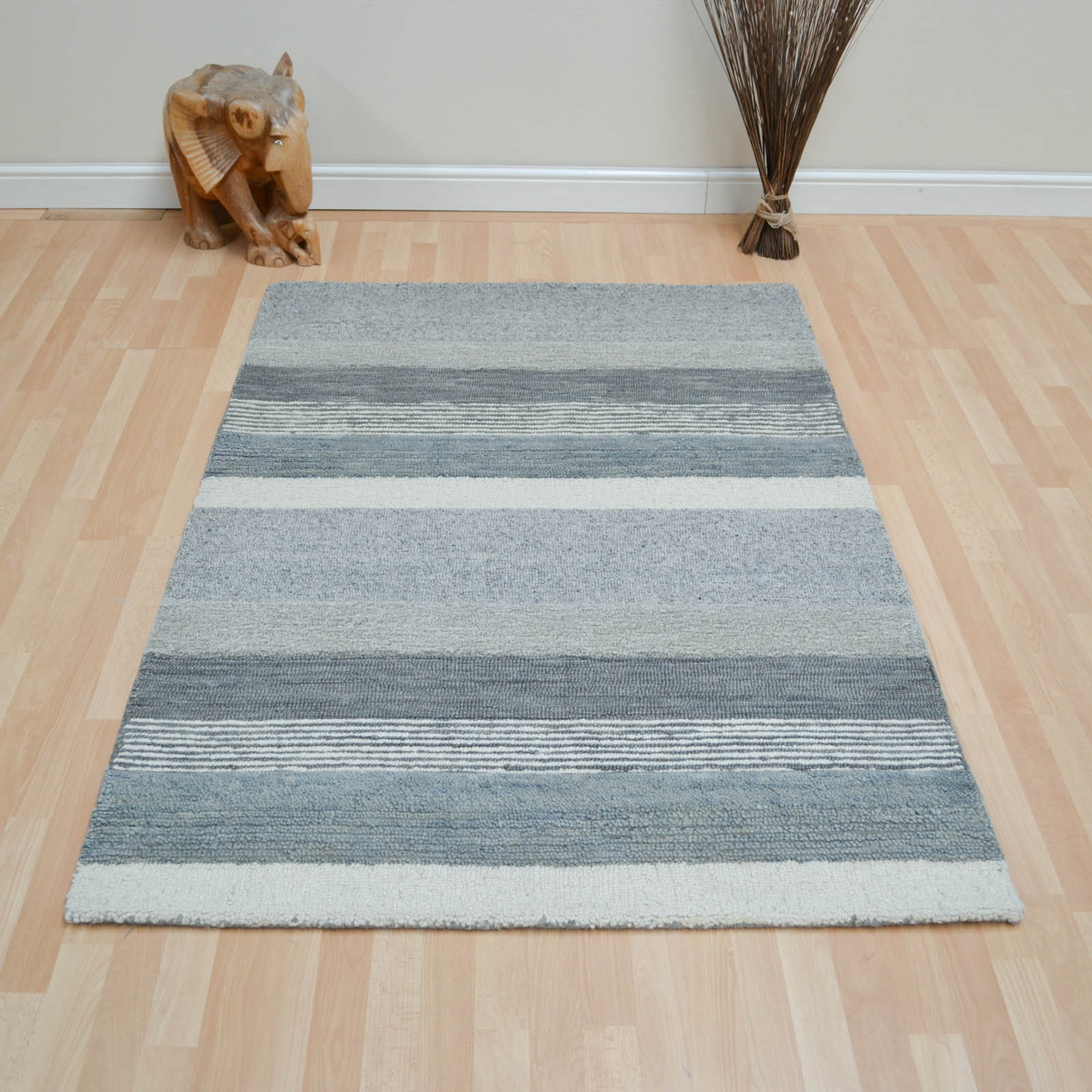 Portofino Rugs in Slate Grey