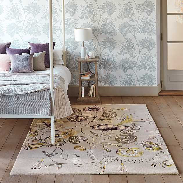 Quintessence Rugs in Heather 41801 by Harlequin