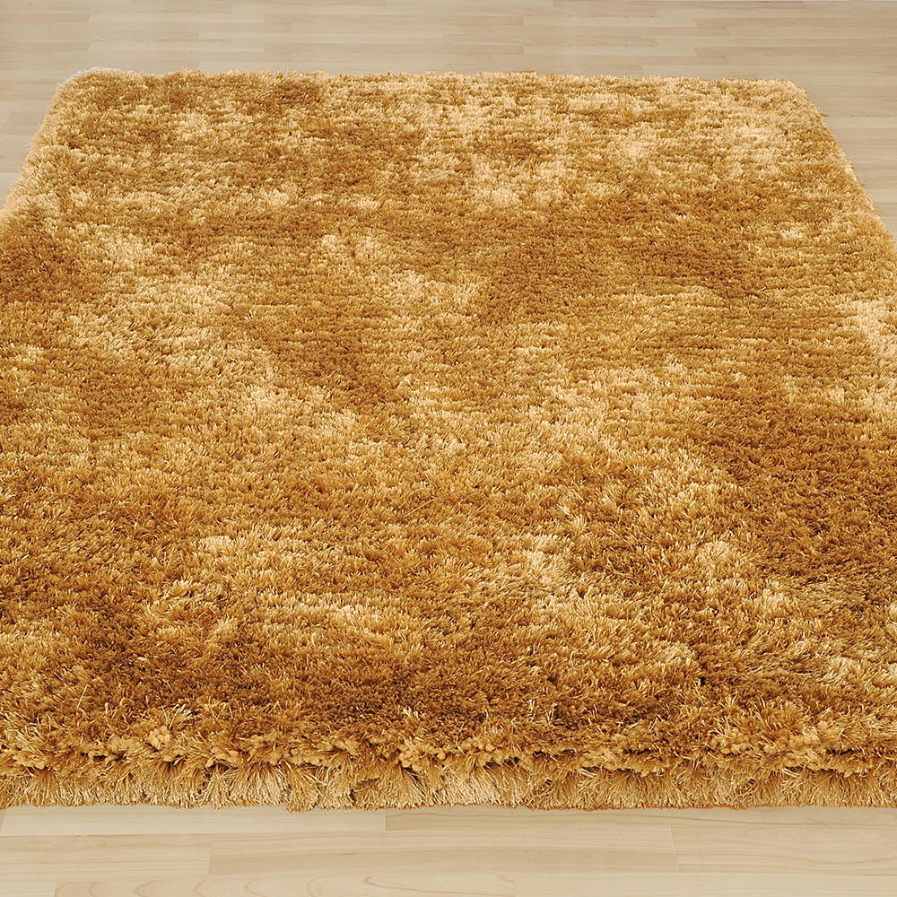 Revival Shaggy Rugs in Champagne