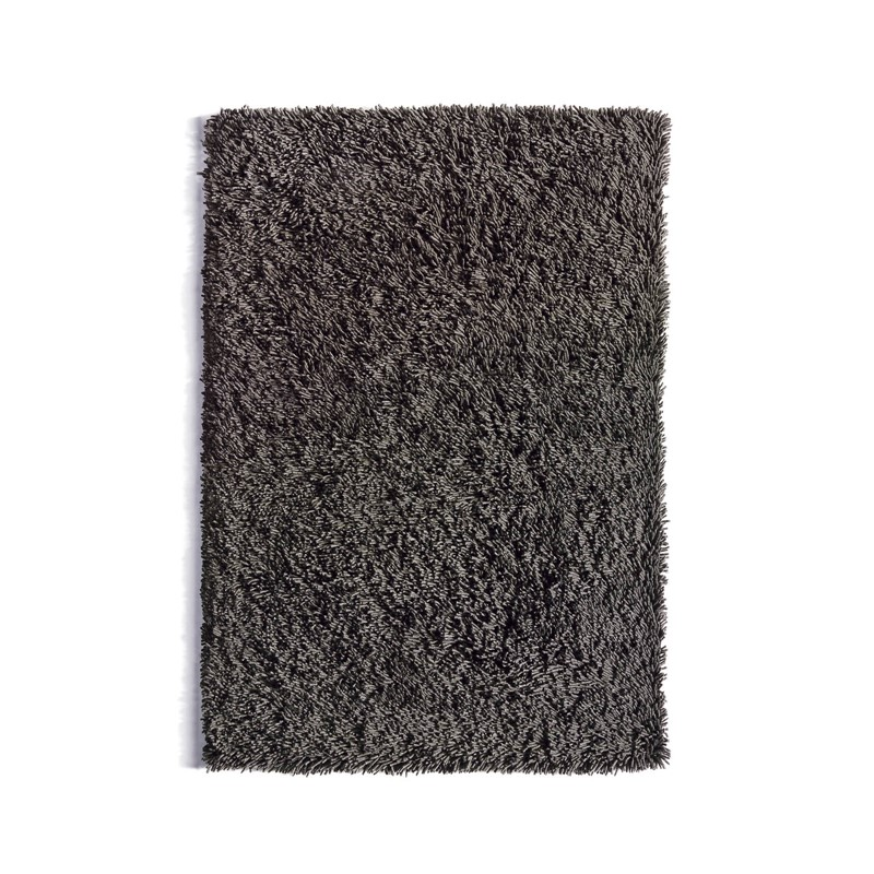 Maine Shaggy Wool Rugs in Dove Grey buy online from the
