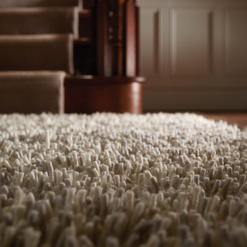 Maine Shaggy Wool Rugs in Fossil buy online from the rug