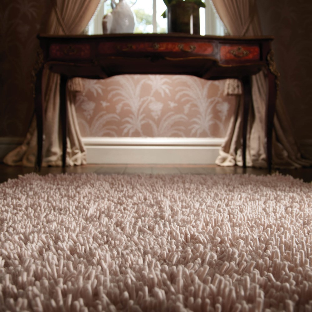Imperial Shaggy Wool Rugs in Dove Grey buy online from the
