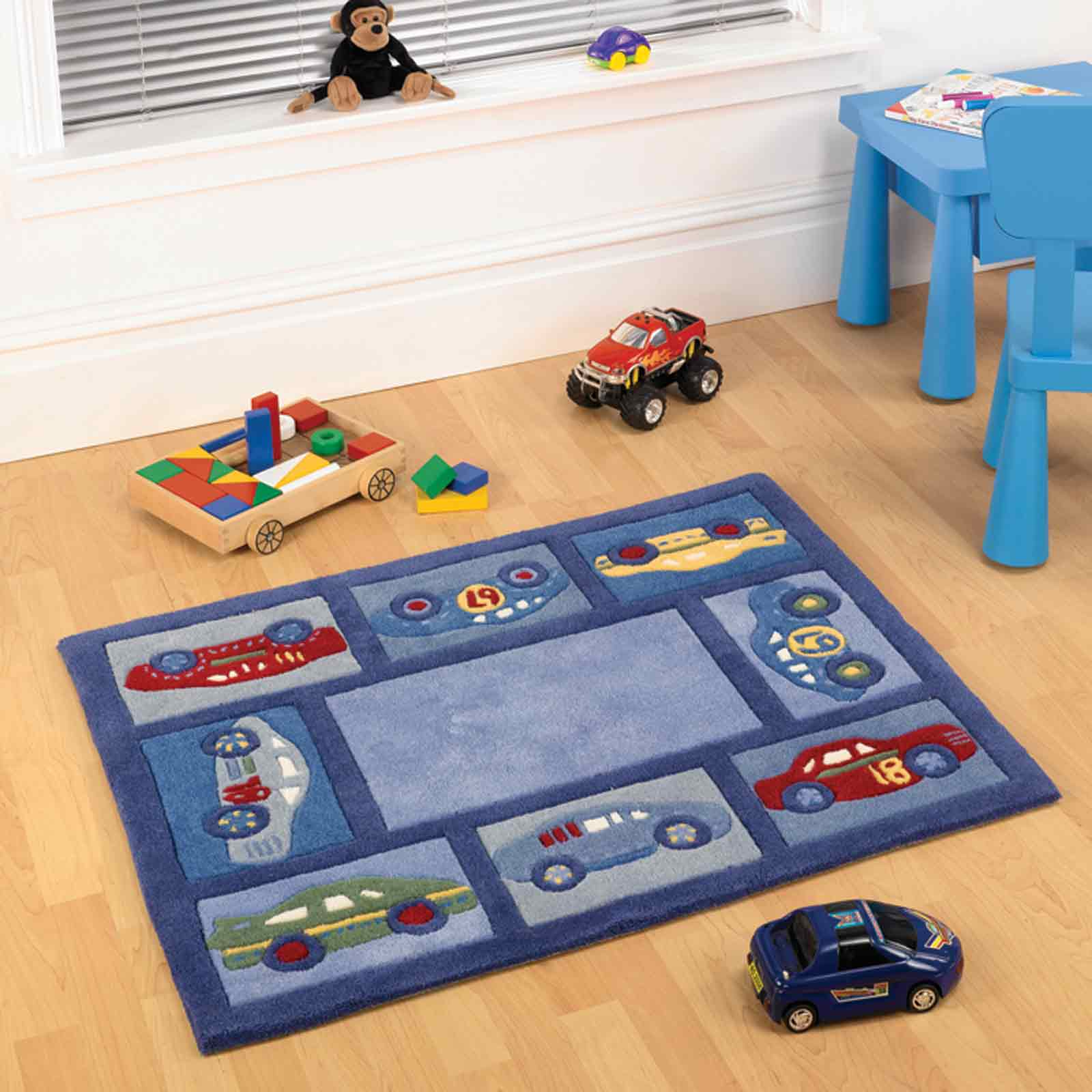 Racing Cars Boy Childrens Rugs