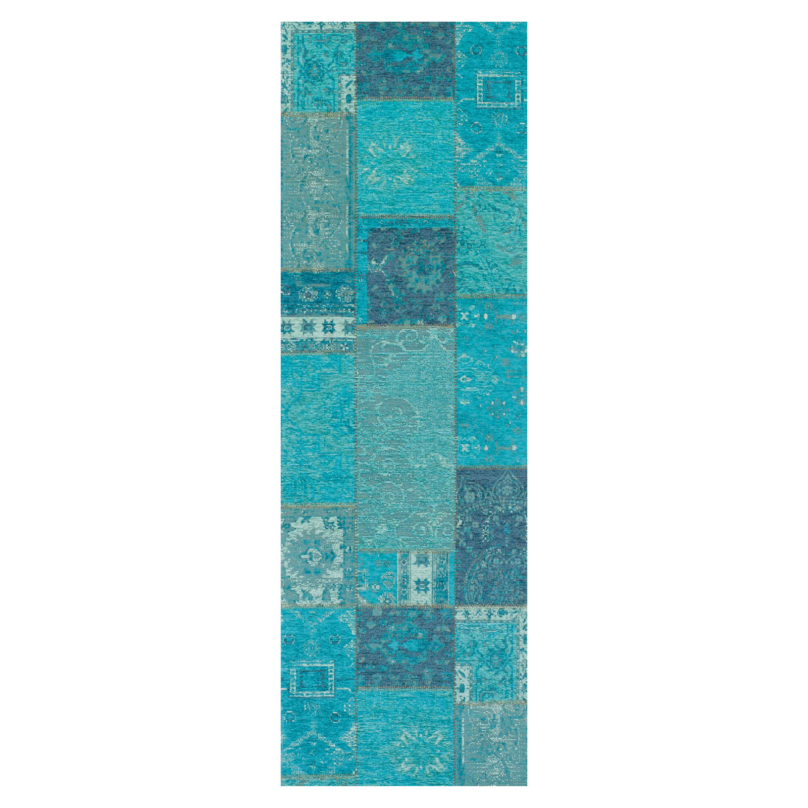 Renaissance 25 L Hallway Runners in Turquoise