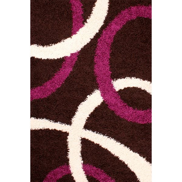 Retro Curve - Chocolate Aubergine