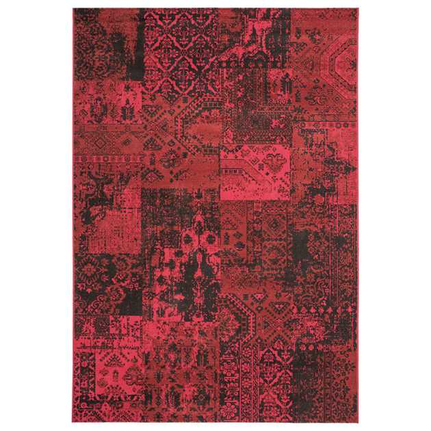 Revive Rugs RE08 in Red