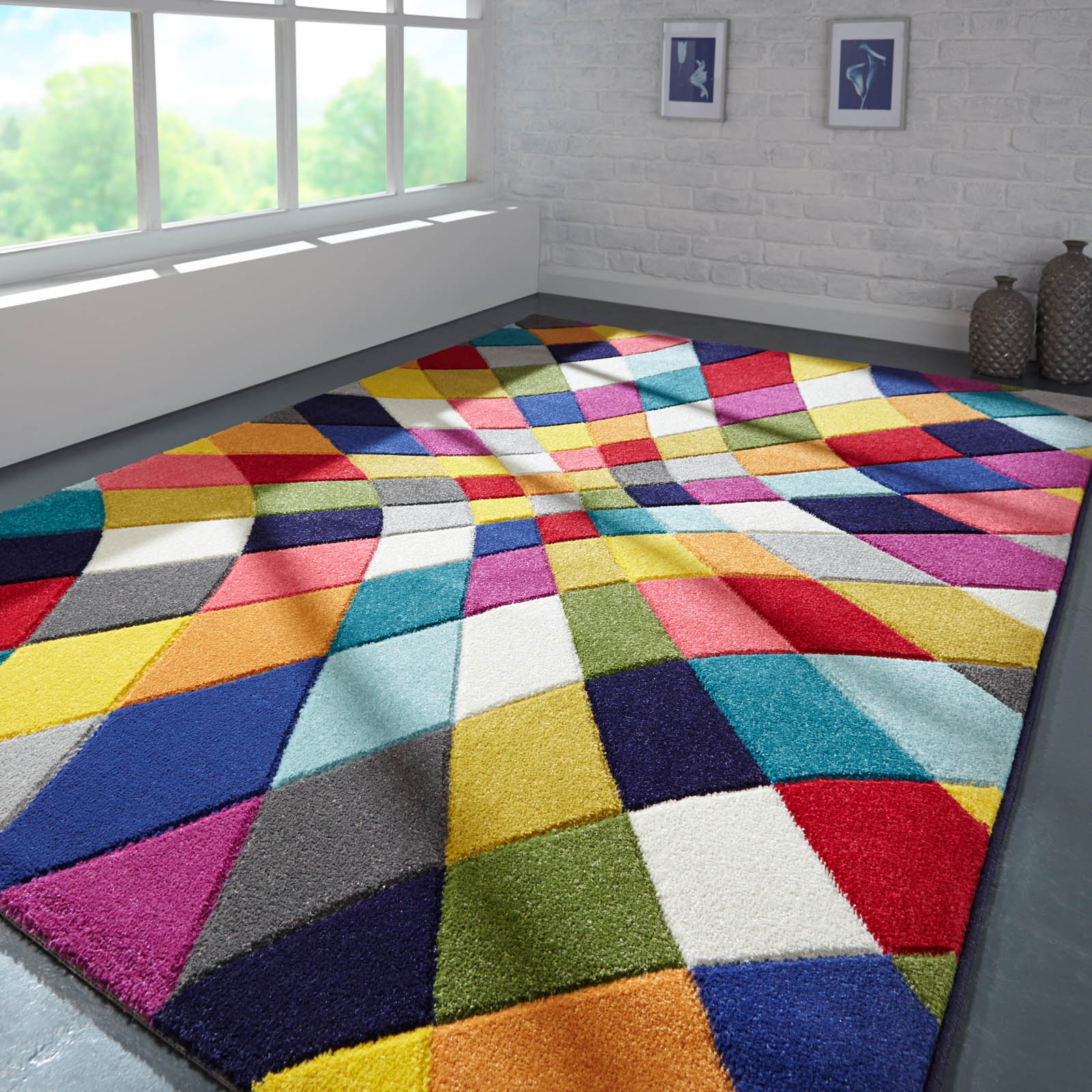 Spectrum Rhumba Multicoloured Rugs
