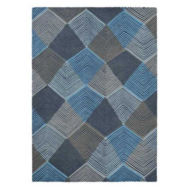 Rhythm Rugs in Indigo 40908 by Harlequin