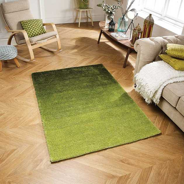 Rio rugs in Green