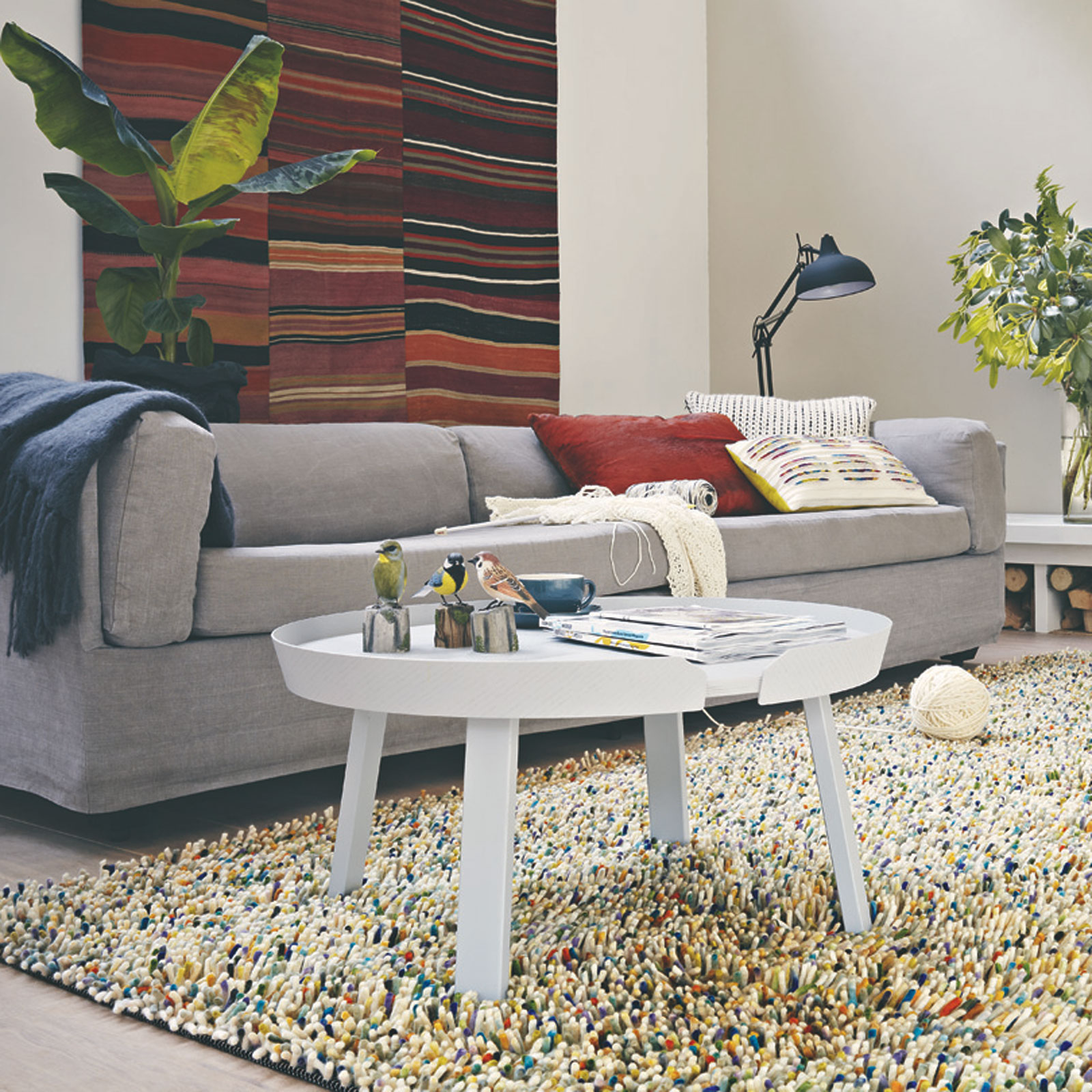 Rocks Mix Rugs 70411 Multi by Brink and Campman