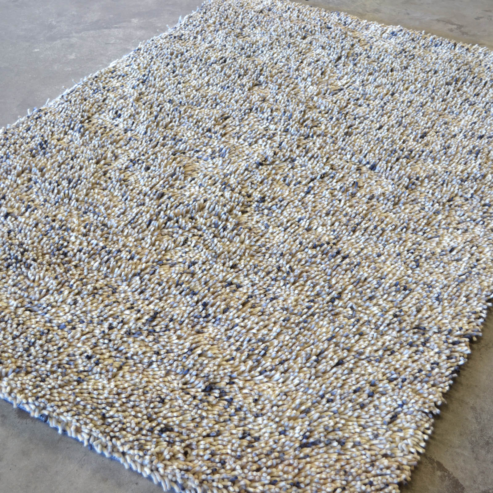 Brink and Campman Rocks Multi Shaggy Wool Rugs 70201