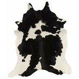 Cowhide - Black White