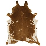 Cowhide - Brown White