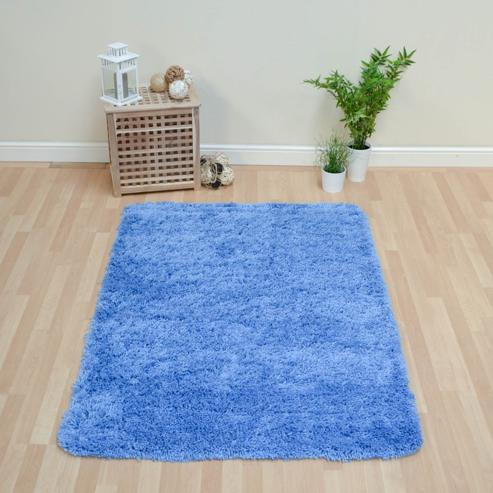 Large Washable Rugs Uk: Romany Washable Rugs In Blue Buy Online From The Rug Seller Uk