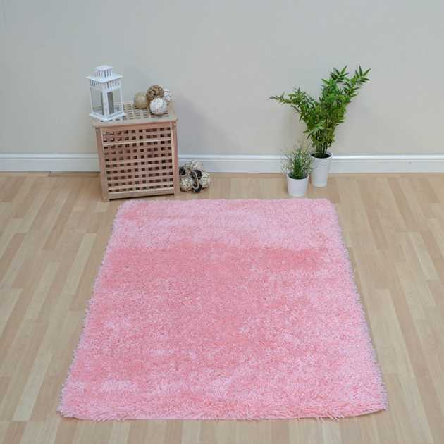 Romany Washable Rugs In Pink