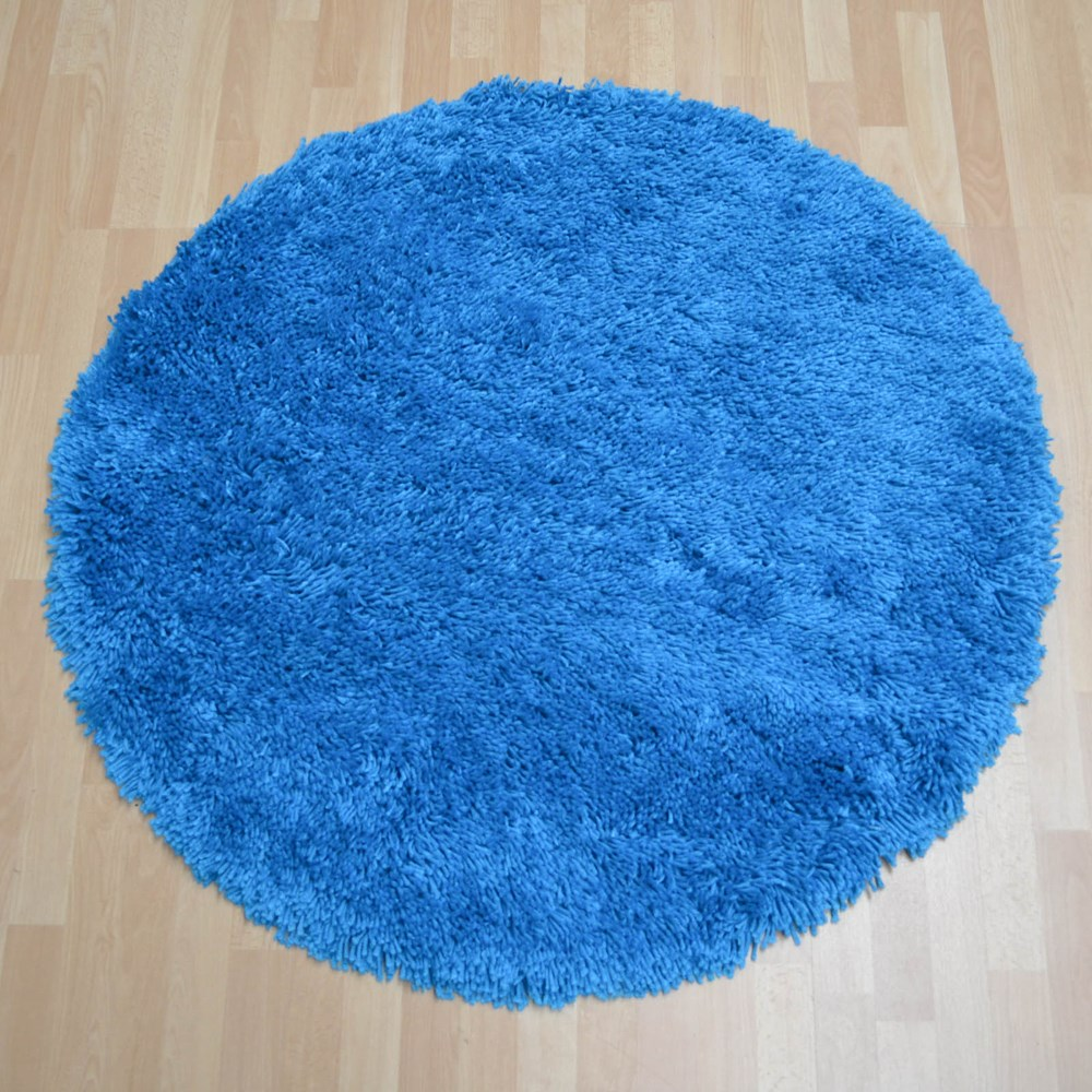 Romany Circular Washable Rugs In Peacock Buy Online From
