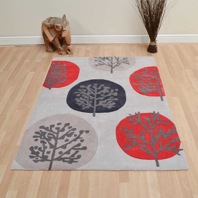 Rowan Rugs in Red