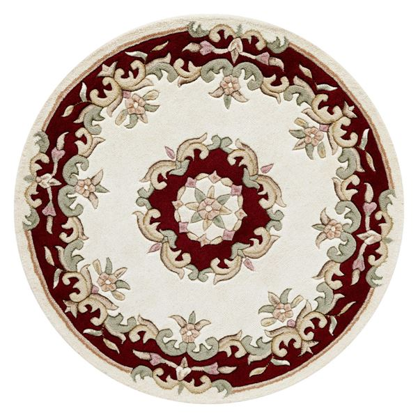 Royal Aubusson - Cream Red