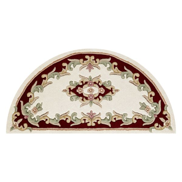 Royal Aubusson - Red Cream