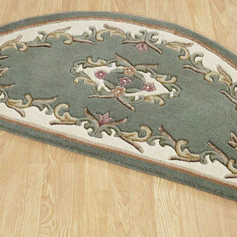 Royal Aubusson Half Moon Rugs In Green Buy Online From The