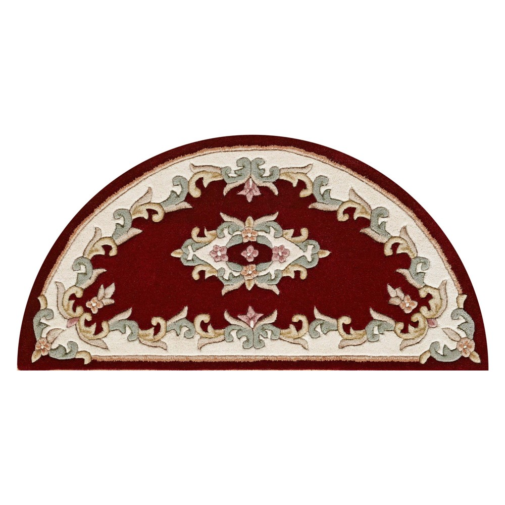 Royal Aubusson Half Moon Rugs In Red Buy Online From The