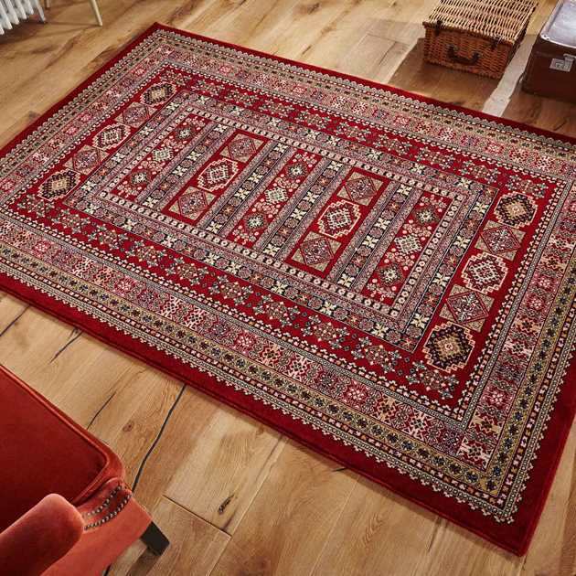 Royal Classic Rugs 191 R in Red