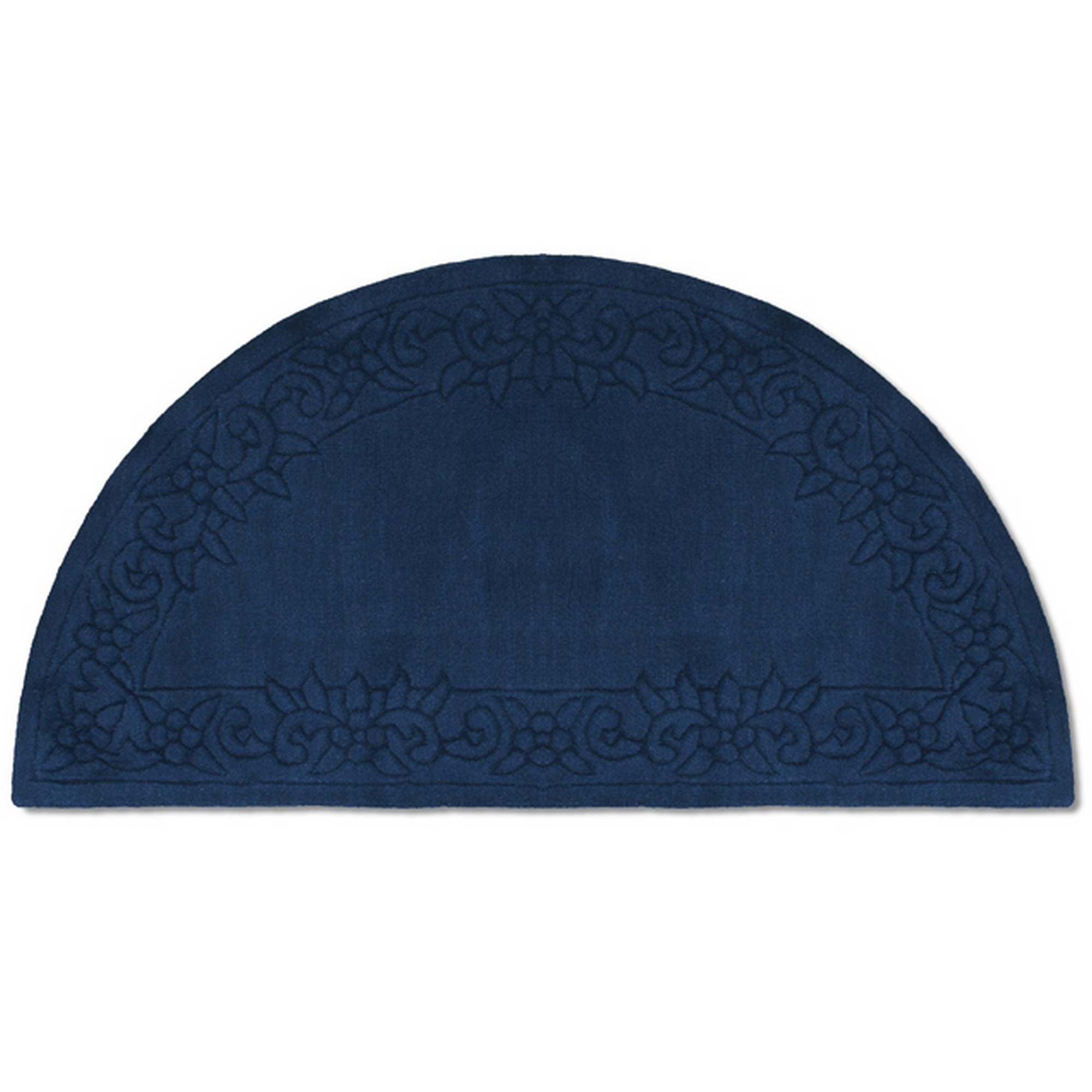 Royale Half Moon - Traditional Indian Wool in Blue