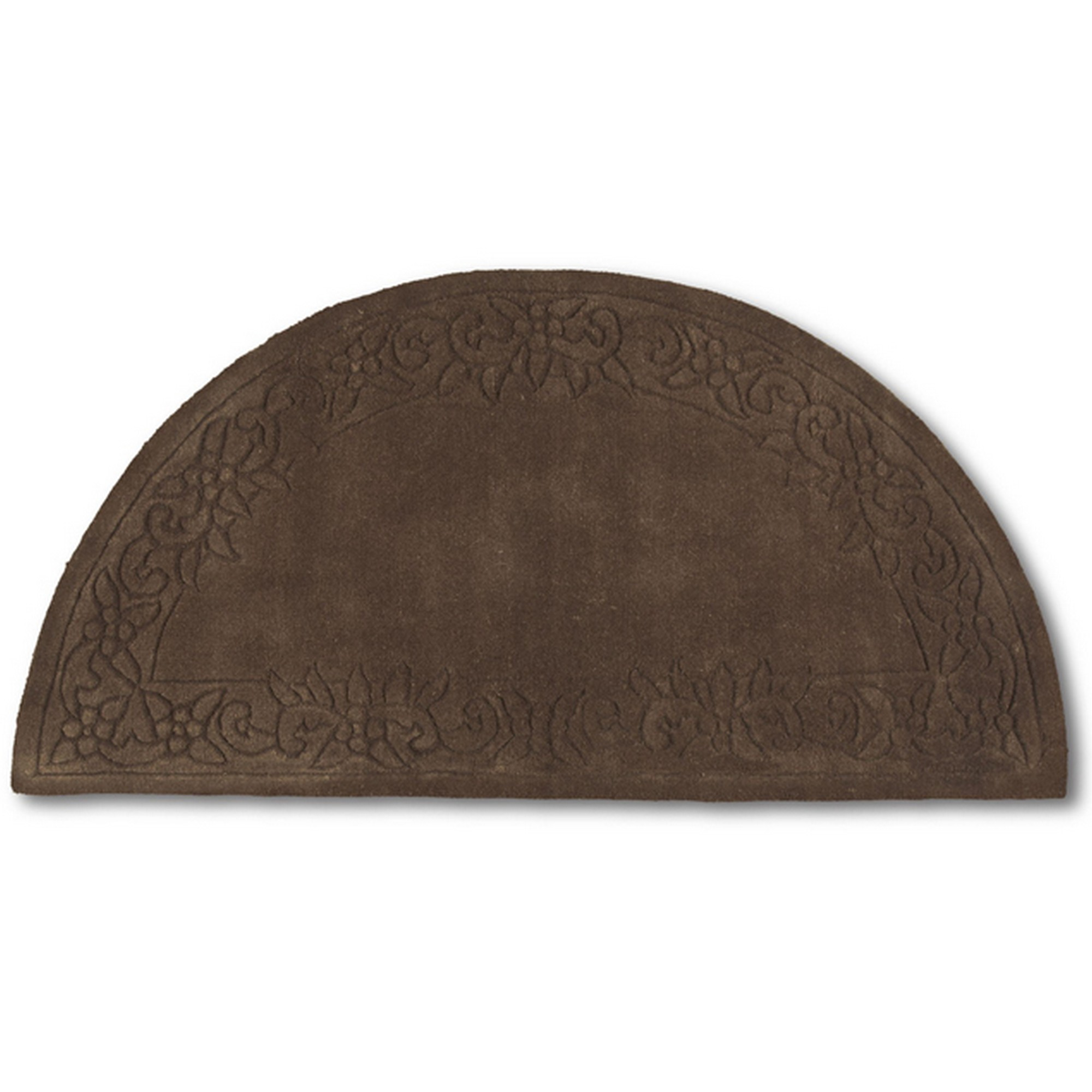Royale Half Moon - Traditional Indian Wool in Chocolate