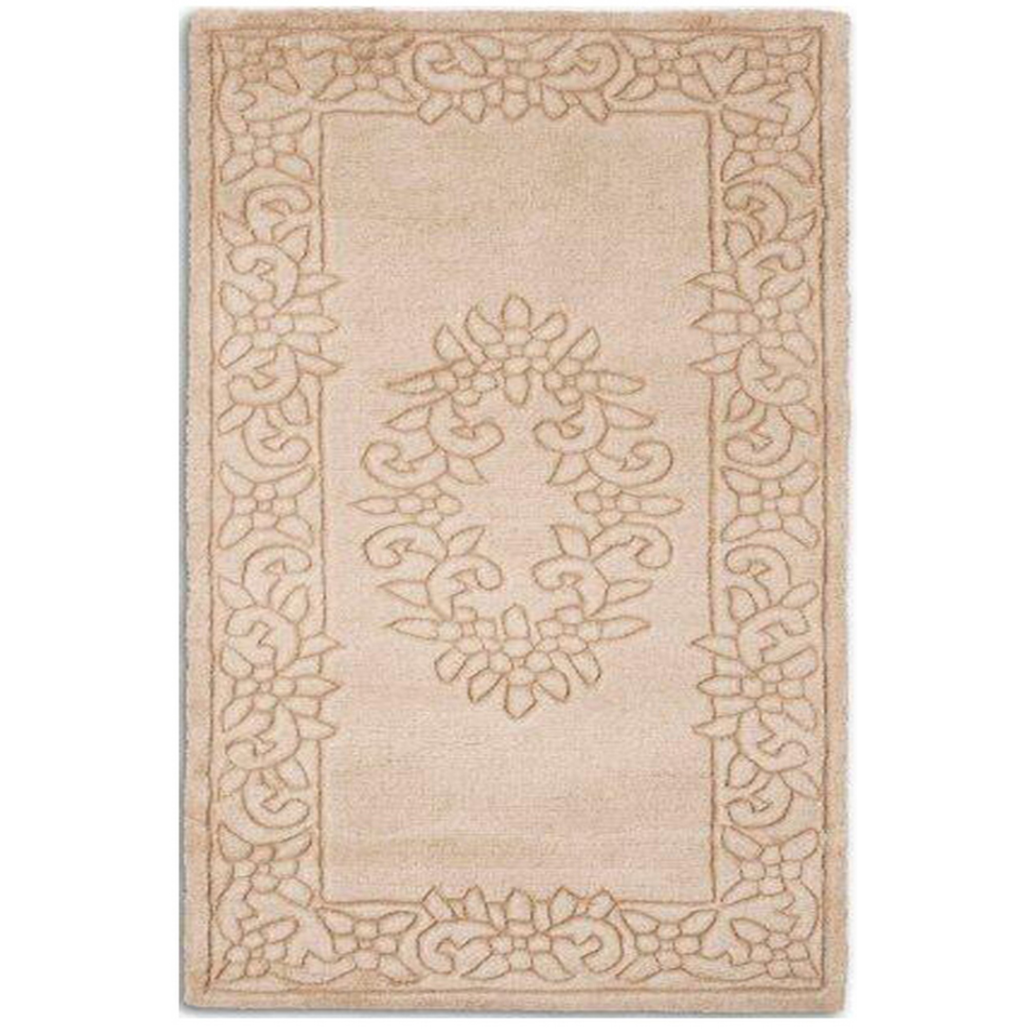 Royale Rugs - Traditional Indian Wool in Camel