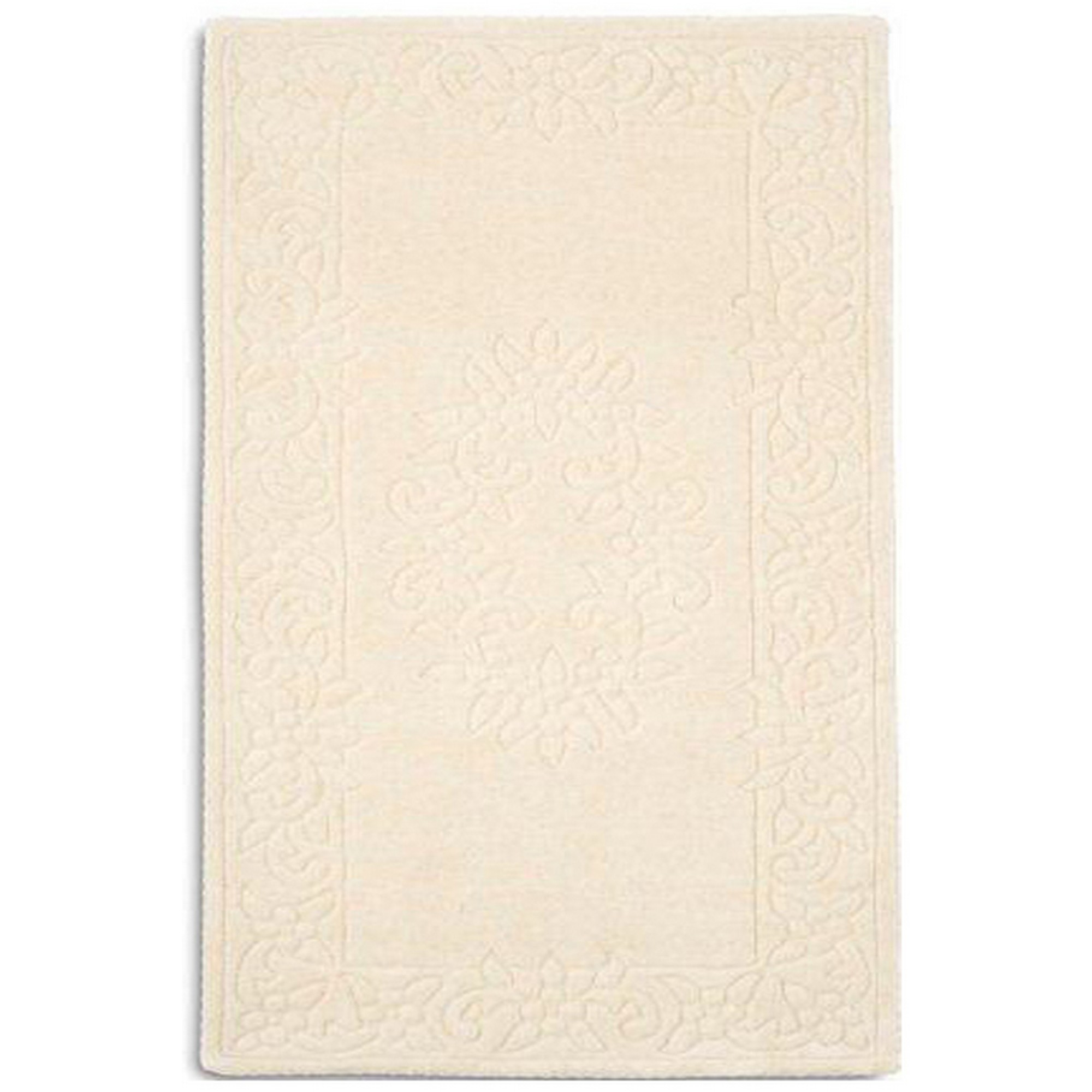 Royale Rugs - Traditional Indian Wool in Ivory