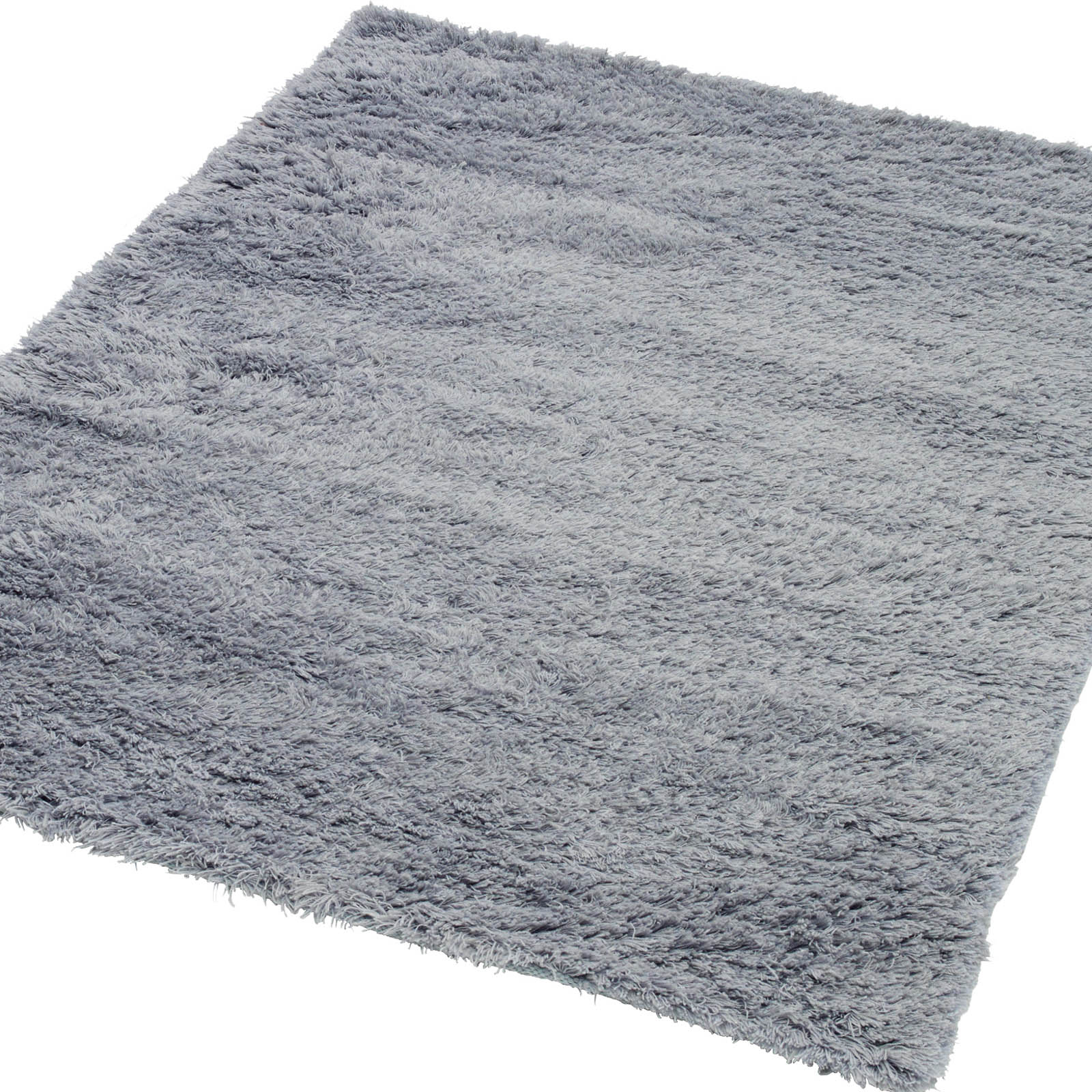 Rya Shaggy Rugs in Nordic Grey by Massimo