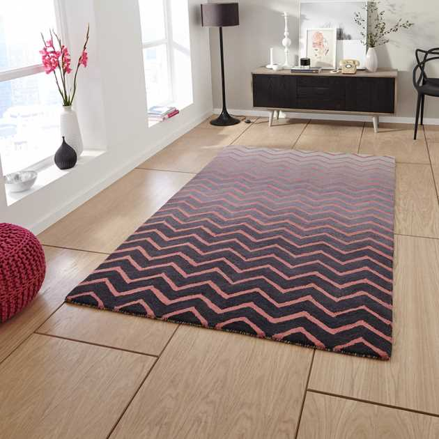 Spectrum SP22 Rugs In Grey Pink