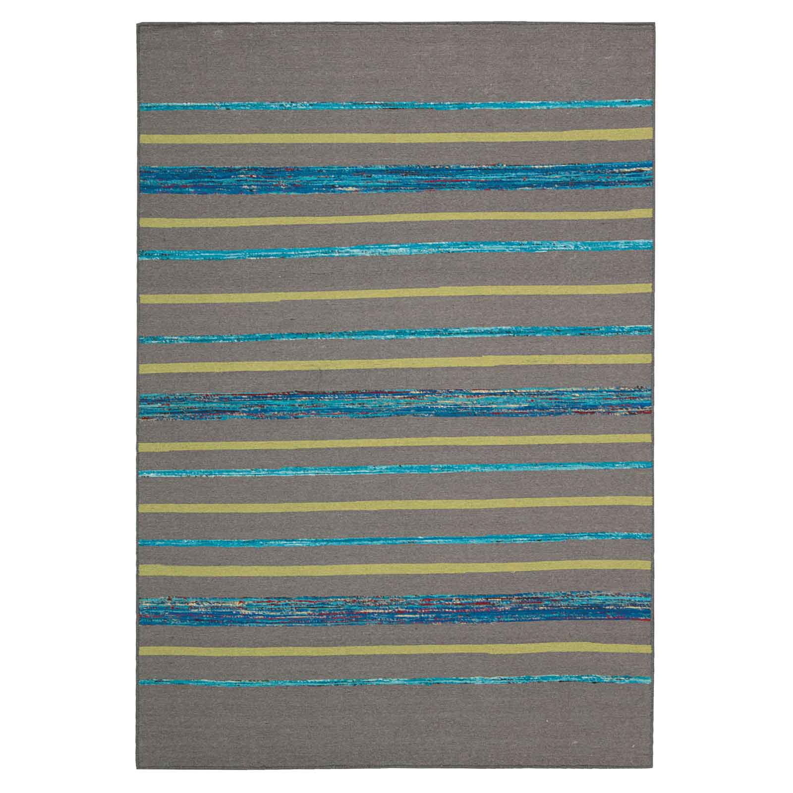 Spectrum Rugs SPE04 in Grey and Turquoise
