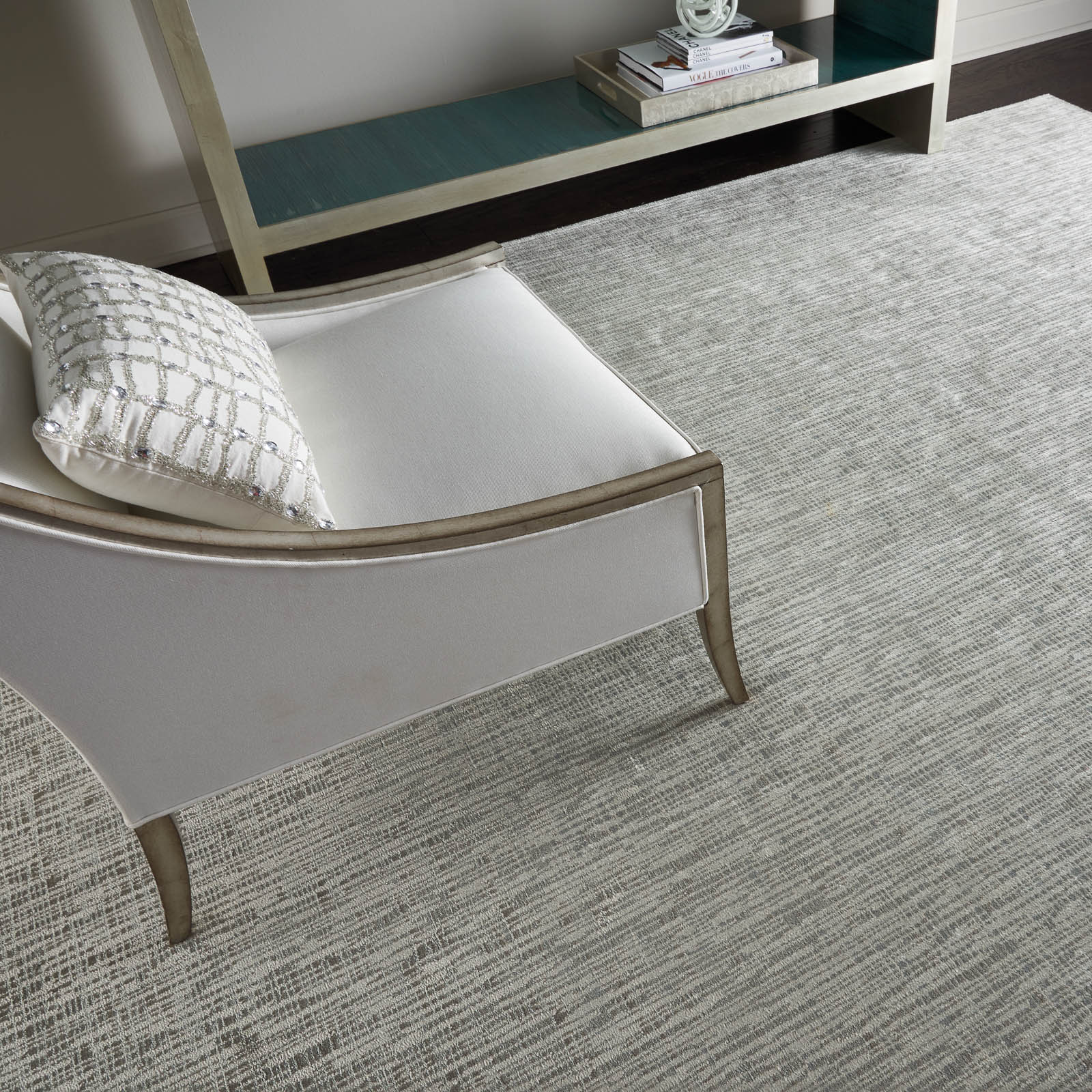 Starlight Rugs STA02 in Pewter