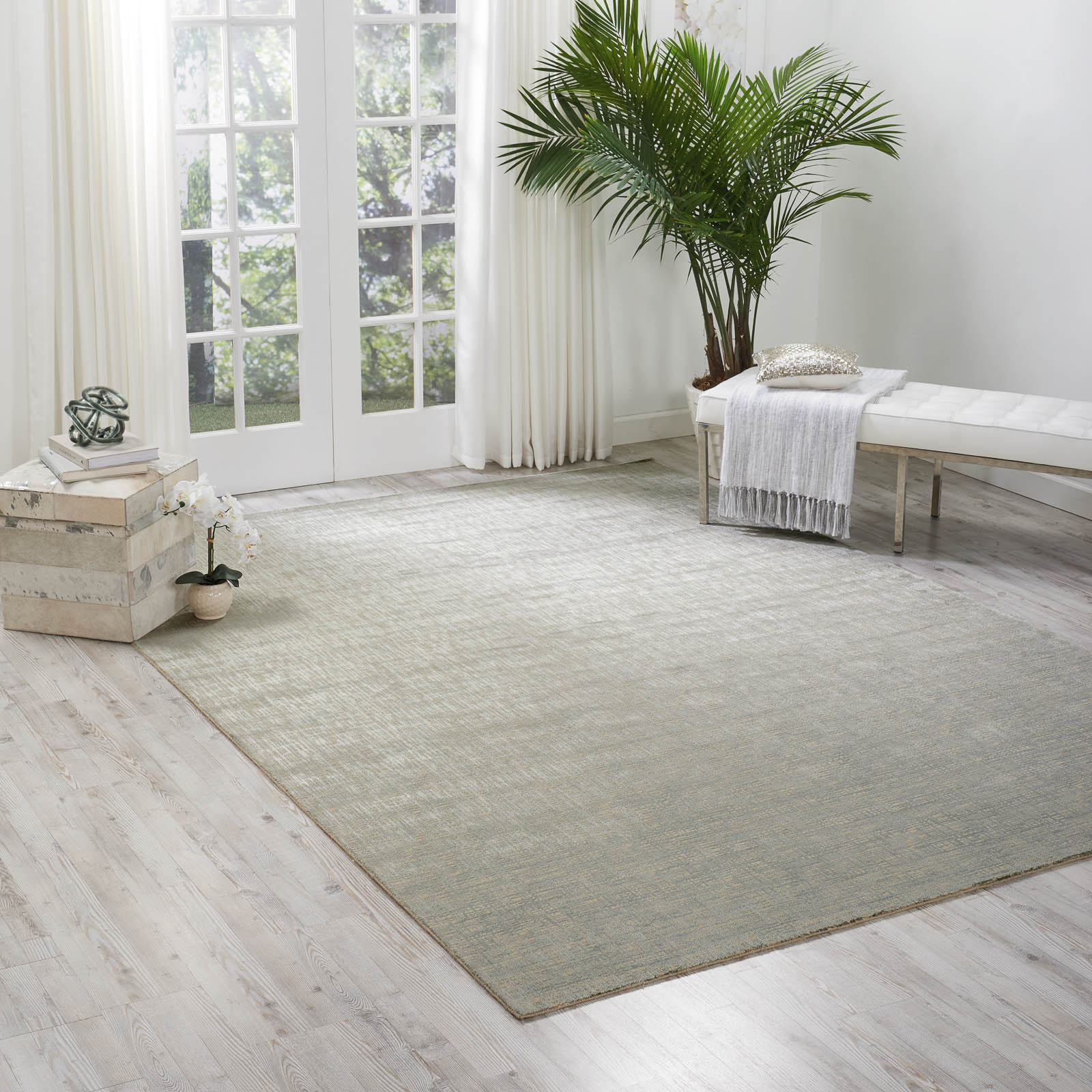 Starlight Rugs STA02 in Sea Mist